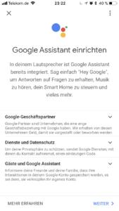 Google Home einrichten 10