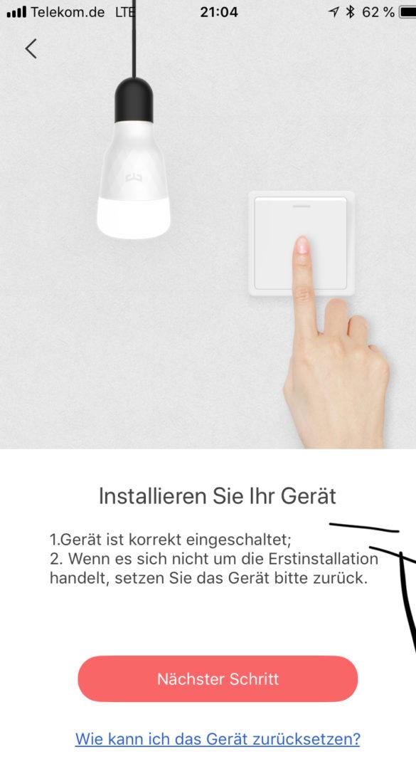 Yeelight Smart LED Filament Bulb - Smarte Vintage Glühbirne im Test 14