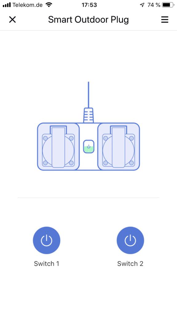 Die smarte Outdoor Steckdose mit Apple HomeKit von Meross im Test 14