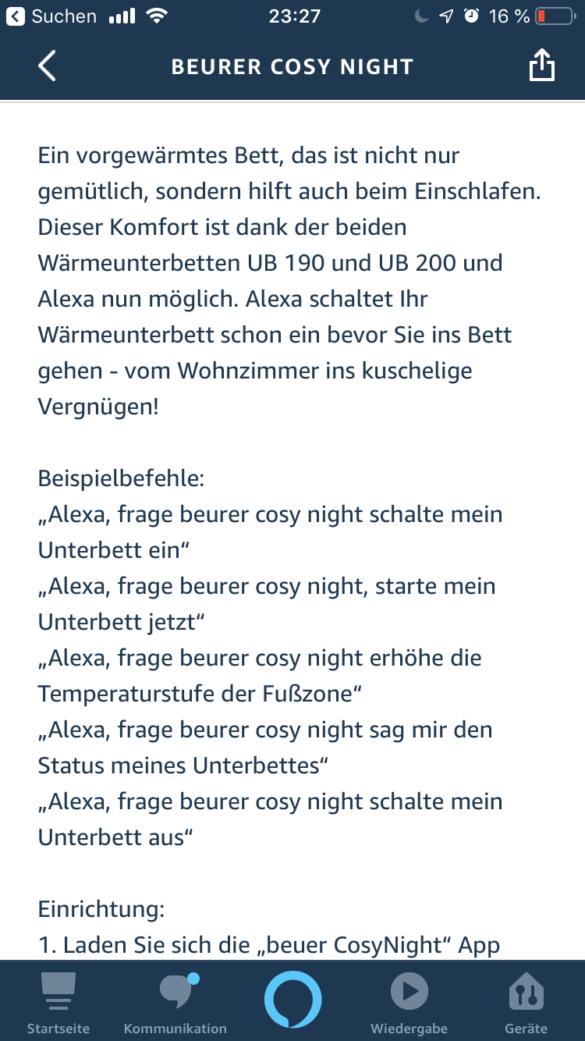 Beurer Komfort-Wärmeunterbett UB 190 CosyNight im Test 18
