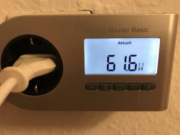 Beurer-Energieverbrauch