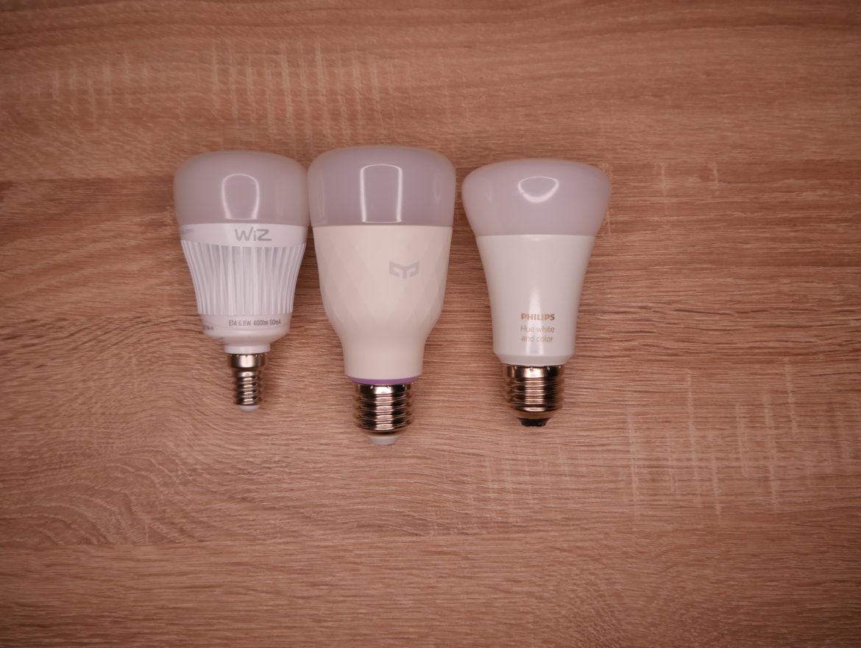 WiZ E14 Whites - Smarte Glühbirne im Test 2