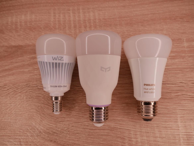 WiZ E14 Whites - Smarte Glühbirne im Test 1