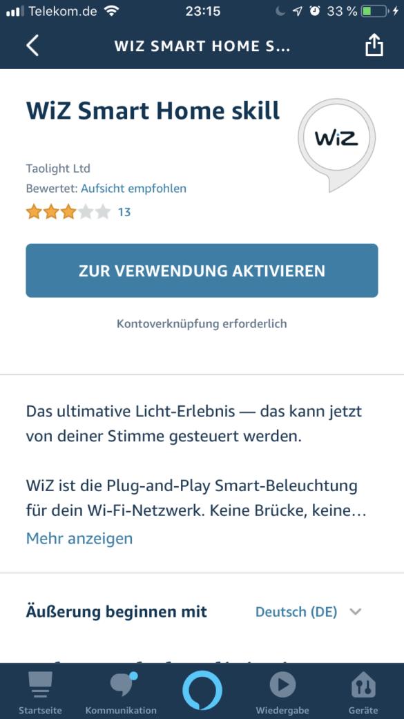 WiZ Colors Hero - Die smarte Tischlampe im Test 25