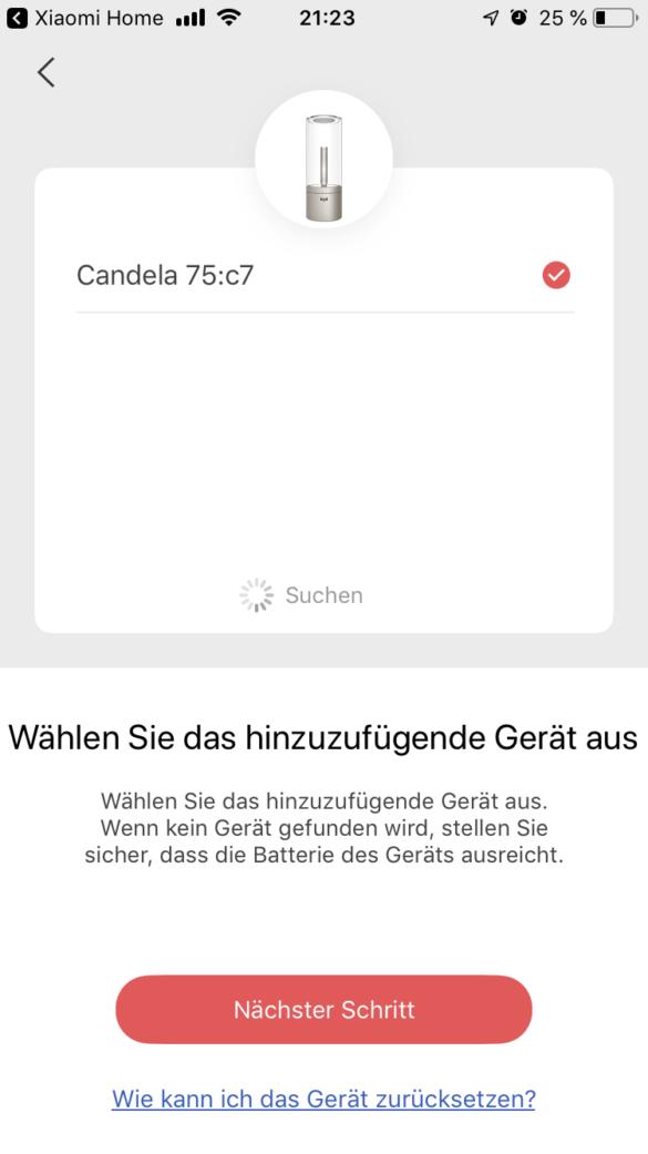 Yeelight_Candela_Einrichtung