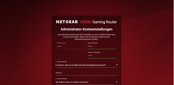 Der Netgear Nighthawk XR500 Router im Test 10