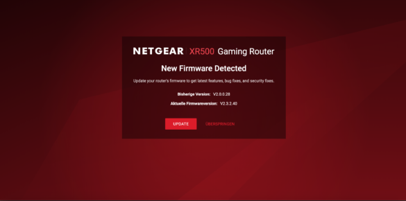 Der Netgear Nighthawk XR500 Router im Test 12