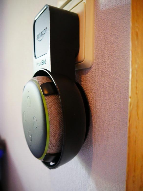 PROUD BIRD Wandhalterung – Die optimale Halterung für den Echo Dot 3 im Test