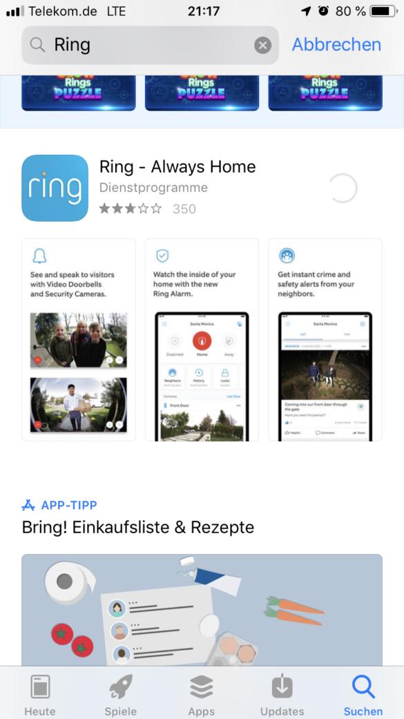Ring Video Doorbell 2 - Die Videotürklingel von Ring im Test 1