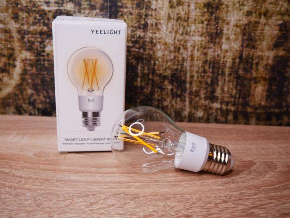 Yeelight Smart LED Filament Bulb - Smarte Vintage Glühbirne im Test 46
