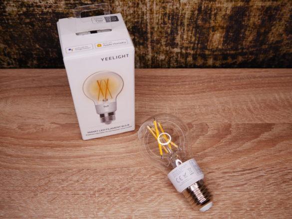 Yeelight Smart LED Filament Bulb - Smarte Vintage Glühbirne im Test 44
