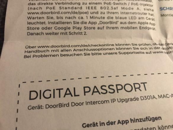 DoorBird D301A - Das IP-Upgrade für analoge Türsprechanlagen im Test 5