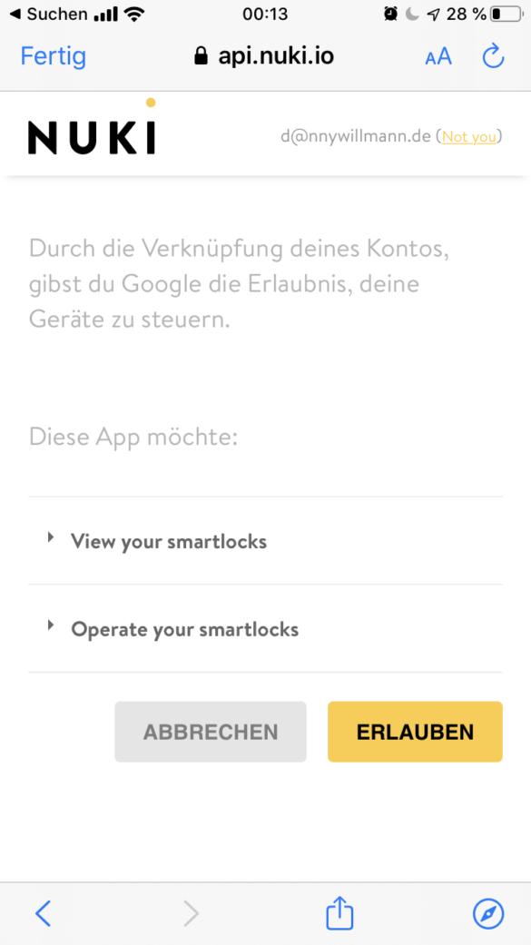 Nuki Opener - Smarter Türöffner für die Gegensprechanlage im Test 44