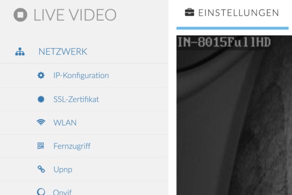 INSTAR IN-9020 Full HD - Die wetterfeste Überwachungskamera im Test 9