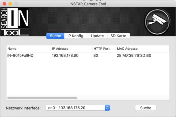 Einrichtung einer INSTAR-Kamera mit der QVR-App von QNAP 1