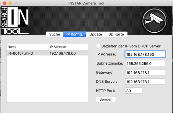 Einrichtung einer INSTAR-Kamera mit der QVR-App von QNAP 2