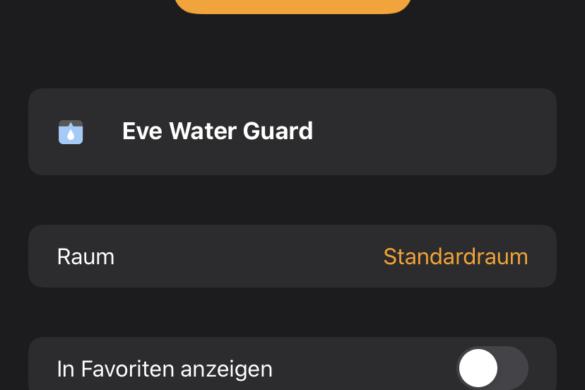 Eve Water Guard - Der smarte Wassermelder von Eve im Test 10