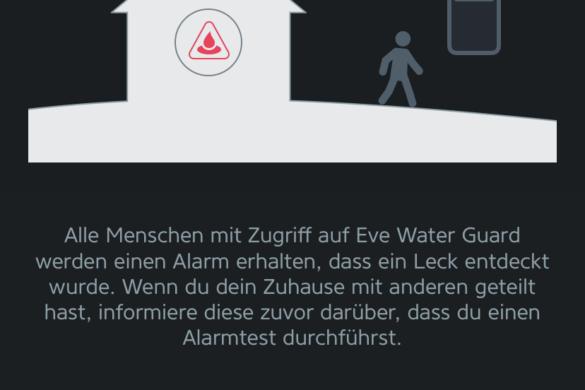 Eve Water Guard - Der smarte Wassermelder von Eve im Test 15