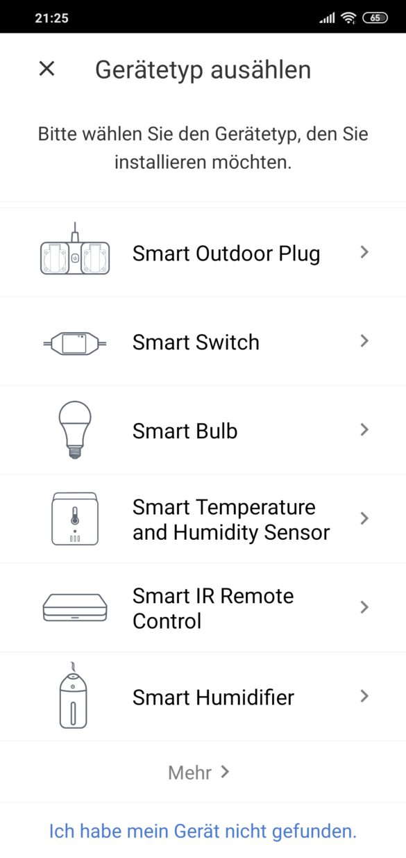 Smart WI-FI LED Bulb Meross MSL100 - im Test 8