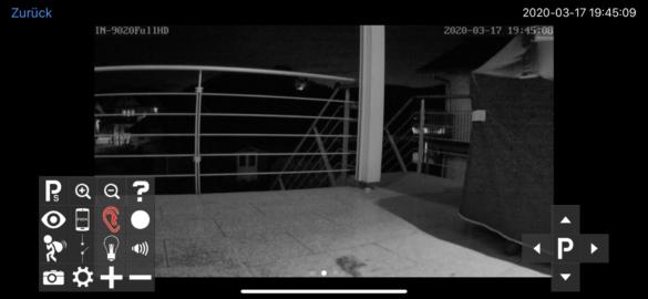 INSTAR-Aufnahme-nachts