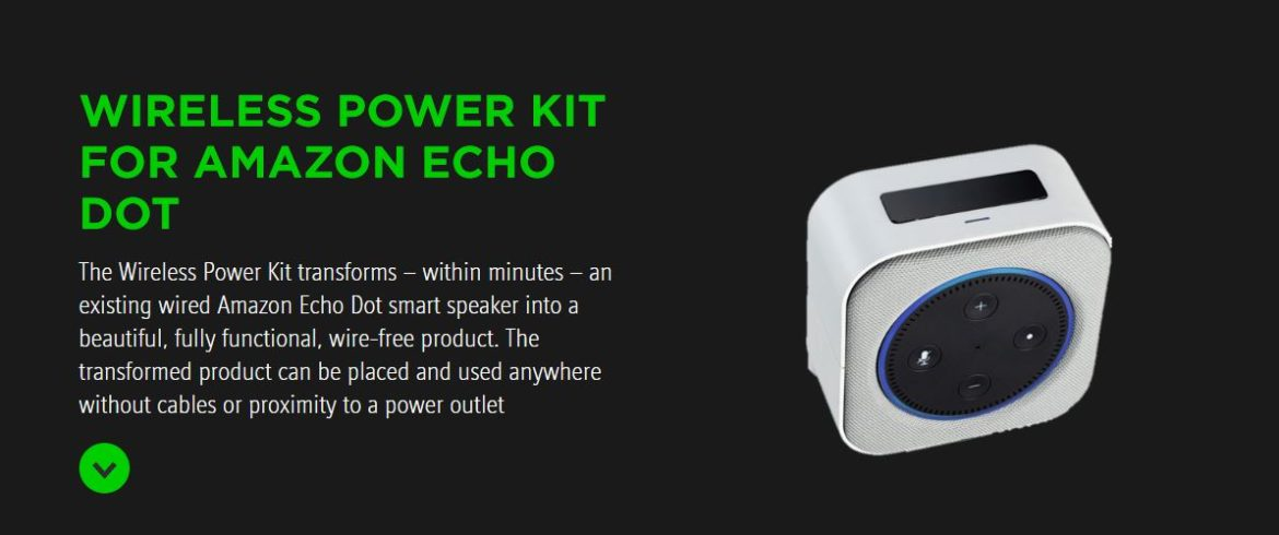 Wireless Power Kit Echo Dot