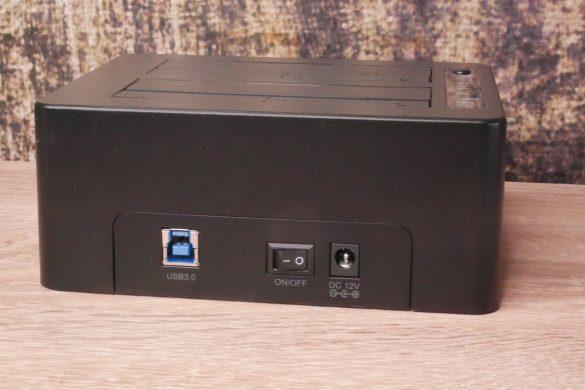 USB 3.0 zu SATA Festplatten-Dockingstationen im Vergleich 41