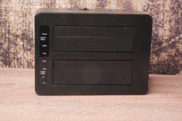 USB 3.0 zu SATA Festplatten-Dockingstationen im Vergleich 40