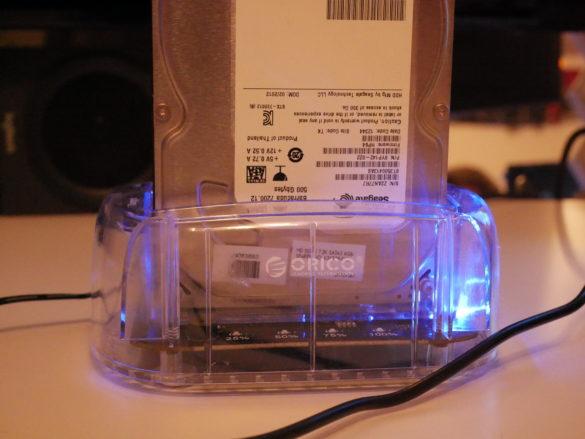 USB 3.0 zu SATA Festplatten-Dockingstationen im Vergleich 6