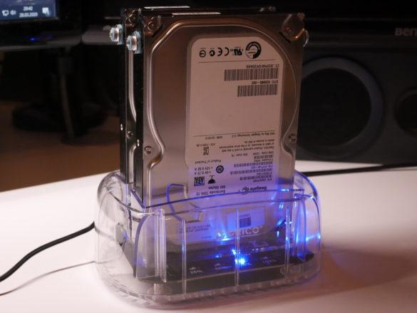 USB 3.0 zu SATA Festplatten-Dockingstationen im Vergleich 8