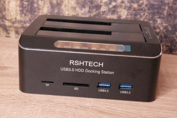USB 3.0 zu SATA Festplatten-Dockingstationen im Vergleich 15