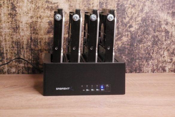 USB 3.0 zu SATA Festplatten-Dockingstationen im Vergleich 34