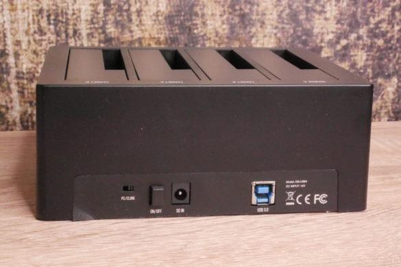 USB 3.0 zu SATA Festplatten-Dockingstationen im Vergleich 37