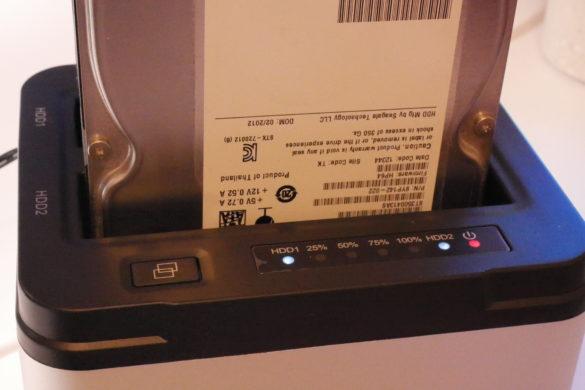USB 3.0 zu SATA Festplatten-Dockingstationen im Vergleich 26