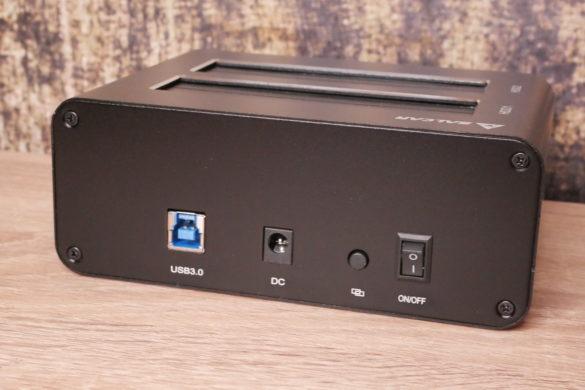 USB 3.0 zu SATA Festplatten-Dockingstationen im Vergleich 21