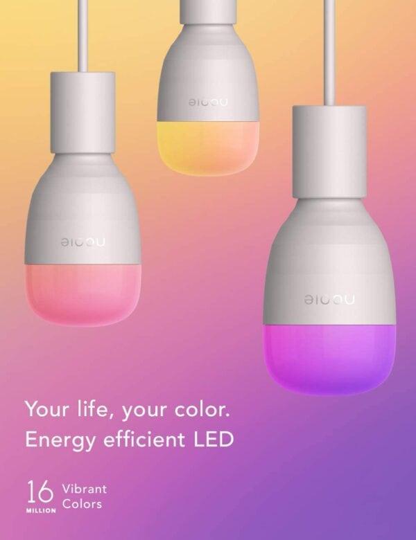 Nooie Smarte WLAN Glühbirnen 2