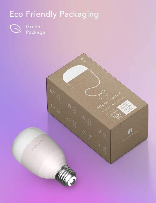 Nooie Smarte WLAN Glühbirnen 5