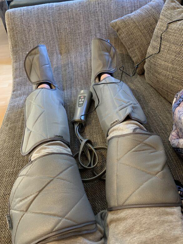 Renpho Kompressionsmassagegerät für Waden und Füße im Test 3