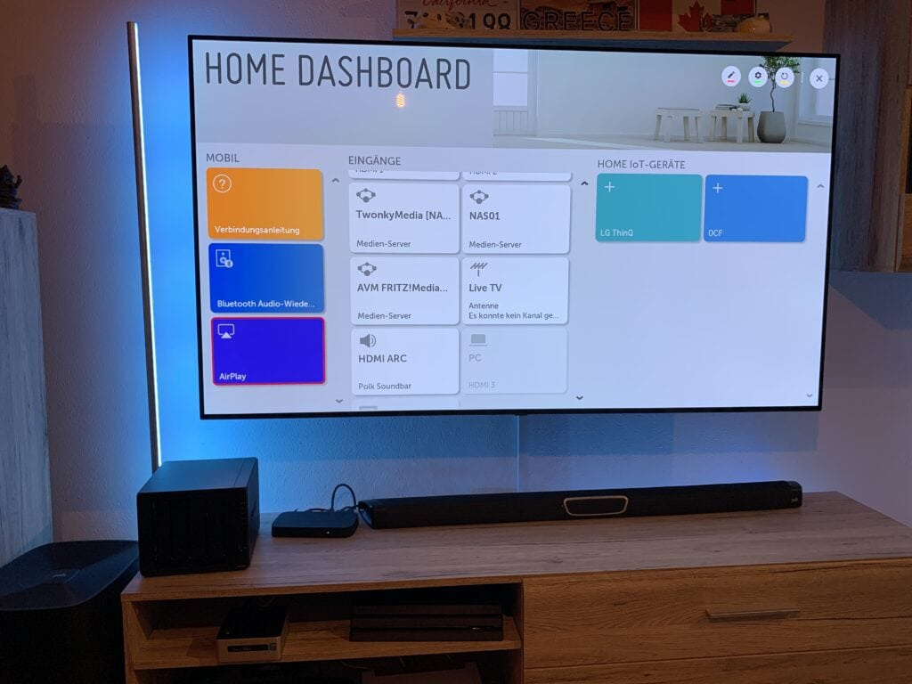 LG OLED TV mit AirPlay in HomeKit integrieren 2