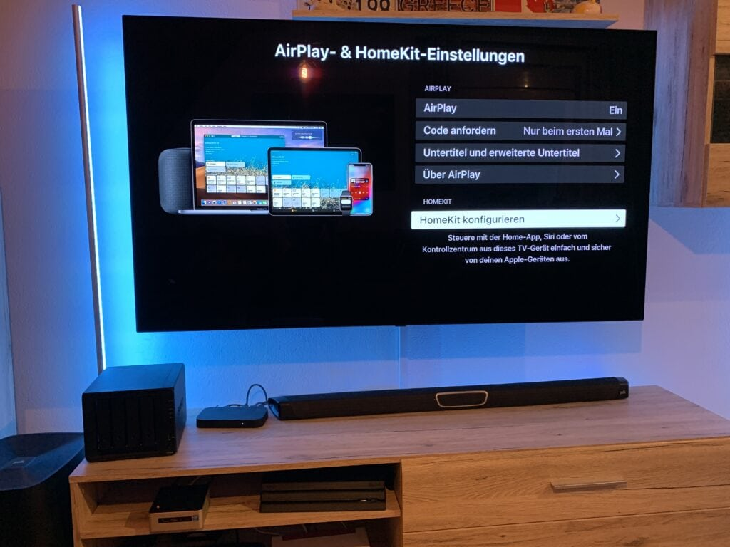 LG OLED TV mit AirPlay in HomeKit integrieren 3