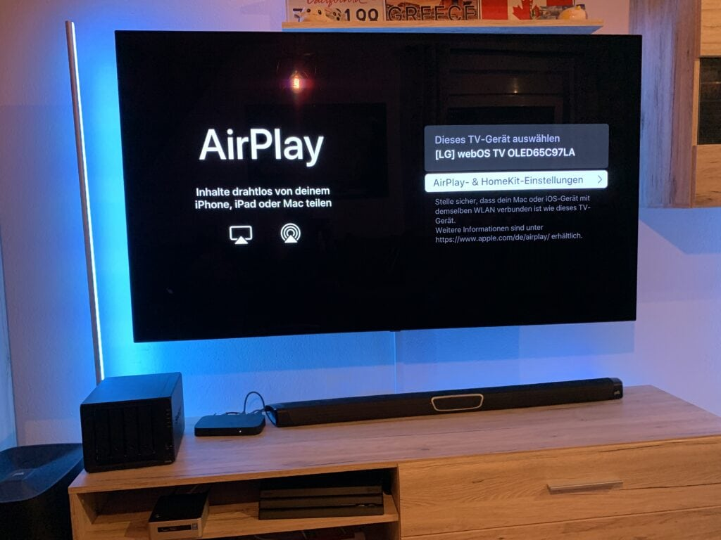 LG OLED TV mit AirPlay in HomeKit integrieren 4