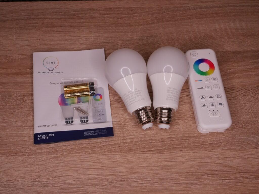 tint von Müller-Licht - Smartes Starter Set im Test 1