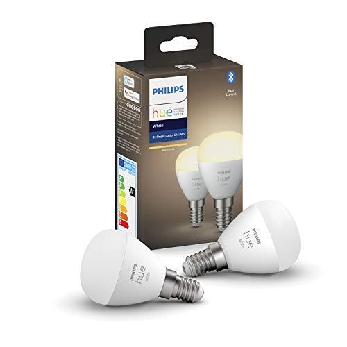 Philips Hue White E14 LED-Tropfen Luster 1