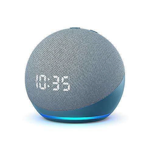 Der neue Echo Dot (4. Generation) | Smarter Lautsprecher mit Uhr und Alexa 1