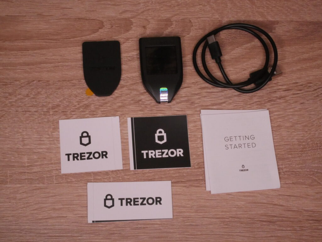 Trezor Model T im Test 25