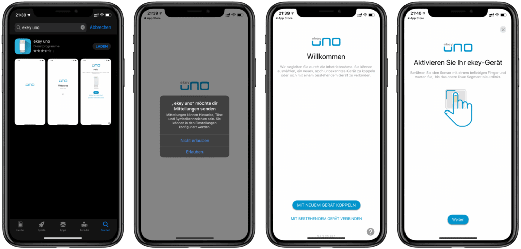 ekey uno Fingerprint für Nuki Smart Lock im Test 2
