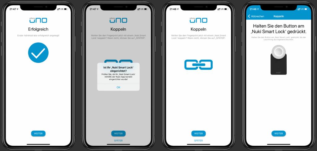 ekey uno Fingerprint für Nuki Smart Lock im Test 8
