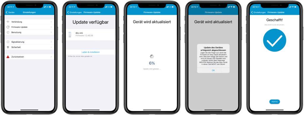 ekey uno Fingerprint für Nuki Smart Lock im Test 10