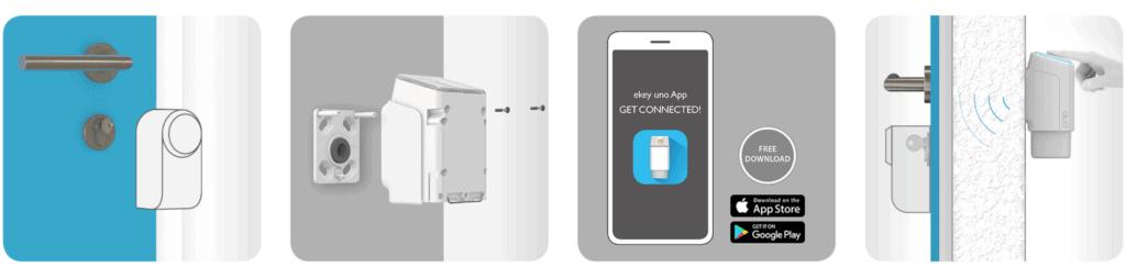ekey uno Fingerprint für Nuki Smart Lock im Test 1