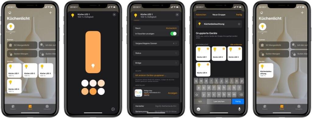 HomeKit Basics: Geräte gruppieren und gemeinsam steuern 1