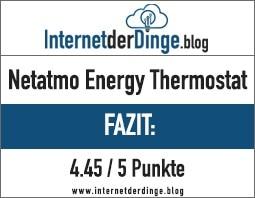 Netatmo Energy - Das smarte Heizkörperthermostatim Test 16